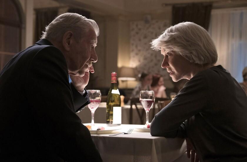 Ian McKellen and Helen Mirren