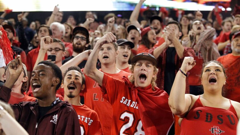 Sdsu Football Attendance Rises For Third Straight Year