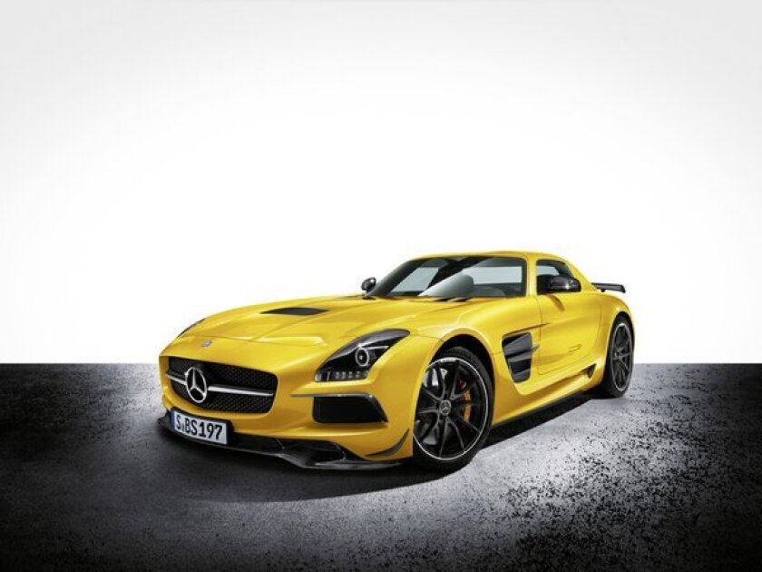 Sls Black Series >> L A Auto Show Preview Mercedes Benz To Debut Sls Amg Black Series