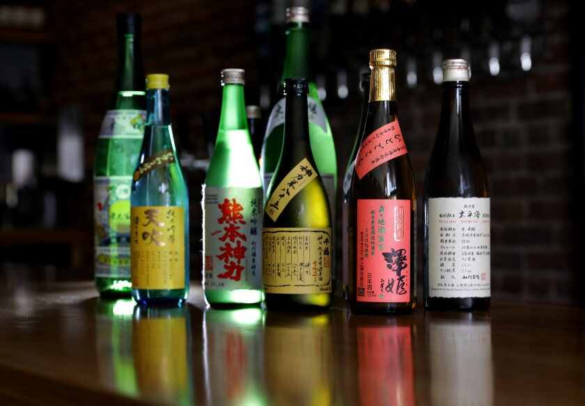 Ototo sake selection