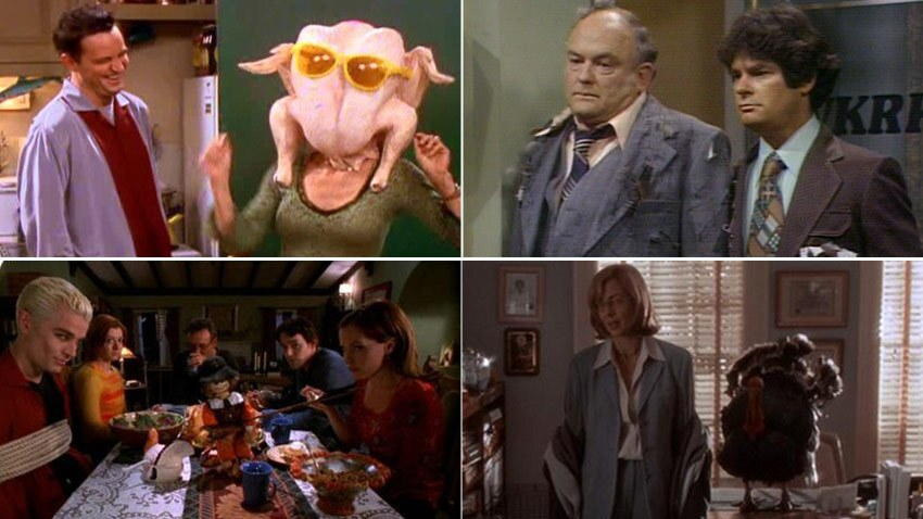It's the time of year to give thanks, and one thing we are all thankful for is Thanksgiving episodes of our favorite television shows. Come relive some of your favorite Turkey Day TV moments. Turkeys away! -- Andrea Reiher, Zap2it