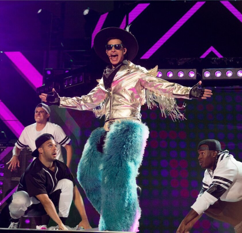 "Andy Samberg in a scene from ""Popstar: Never Stop Never Stopping."""