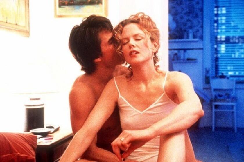 "Tom Cruise and Nicole Kidman in the movie ""Eyes Wide Shut."""