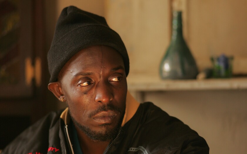 Michael K. Williams as Omar Little in 'The Wire'