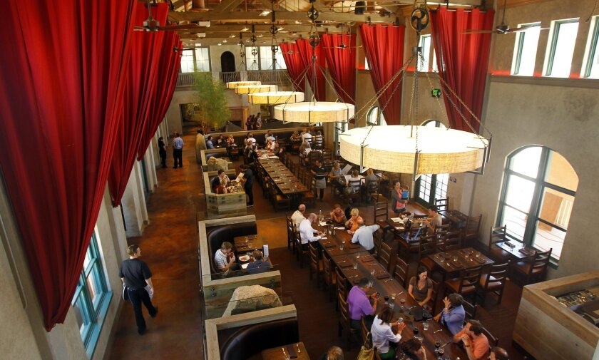 The new Stone Brewing World Bistro & Gardens in Liberty Station.
