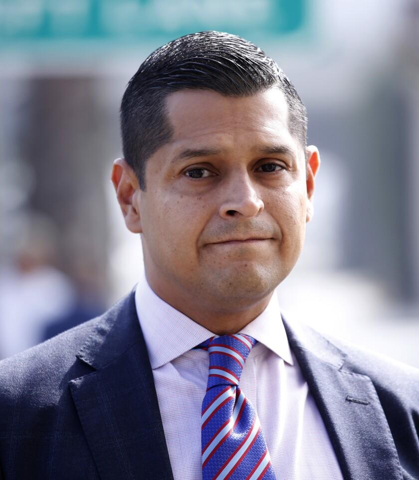 Democratic Assemblyman Miguel Santiago.