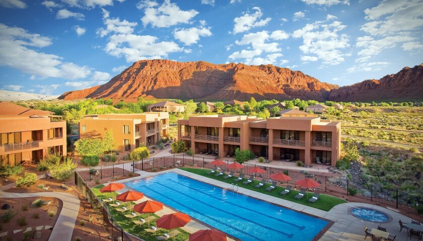 """The Red Mountain Spa in St. George, Utah, is offering a """"retreat"""" package for $200 per night."""