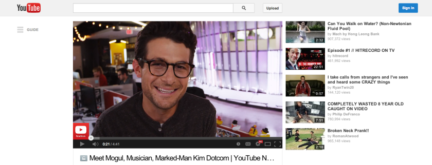 Jacob Soboroff is host of YouTube Nation, which will highlight the most interesting videos on YouTube each day.