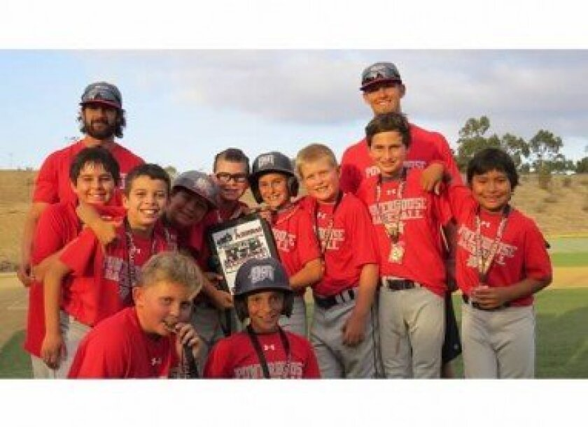 Del Mar Powerhouse 10U are champs in the XDS Battle of the Bats Tournament.