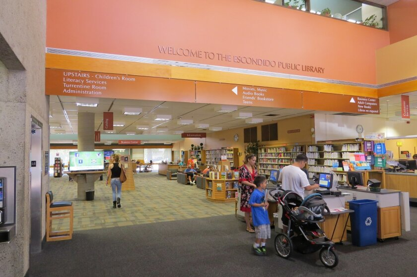 The Escondido Public Library is now run by a private company. A lawsuit challenging the City Council's decision to outsource library management was dismissed Friday.