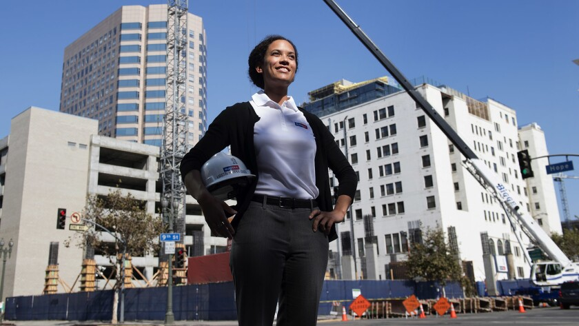Kirstin Harper-Smith is helping build downtown Los Angeles.