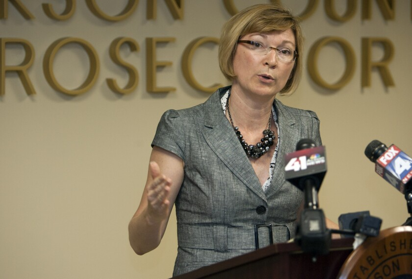 Jackson County Prosecutor Jean Peters Baker has been picked to investigate a rape case in Maryville, Mo., that has gained national attention.