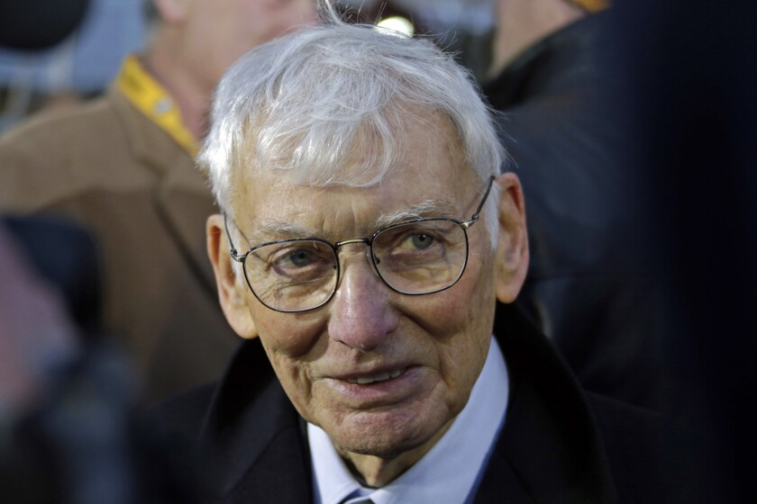 """File-This Dec. 22, 2012, file photo shows Pittsburgh Steelers chairman emeritus Dan Rooney attending the unveiling of a marker commemorating the 40th anniversary of the """"Immaculate Reception"""" at the sight of the catch on the Northside of Pittsburgh. In 2003, the NFL had three minority head coaches: future Pro Football Hall of Famer Tony Dungy, Herman Edwards and Marvin Lewis. In the 12 previous seasons, there had been six. Total. Considering that the majority of the players in the league 16 years ago were minorities, that imbalance was enormous. And disturbing. And, frankly, it was unfair. Paul Tagliabue, then the NFL commissioner, put together a committee that established the """"Rooney Rule,"""" which requires all teams with coaching and front office vacancies to interview minority candidates. The rule, long overdue, was named for Rooney, then president of the Pittsburgh Steelers and the overseer of that committee. (AP Photo/Gene J. Puskar, File)"""