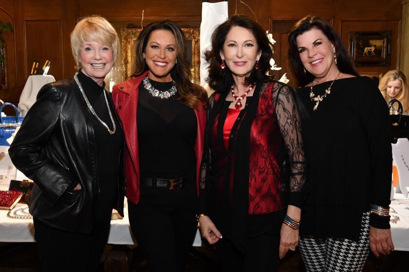 Sharon Smith, Stephanie Myers, Hélène Gould (Bijoux Fantasy owner), Katie Hunt
