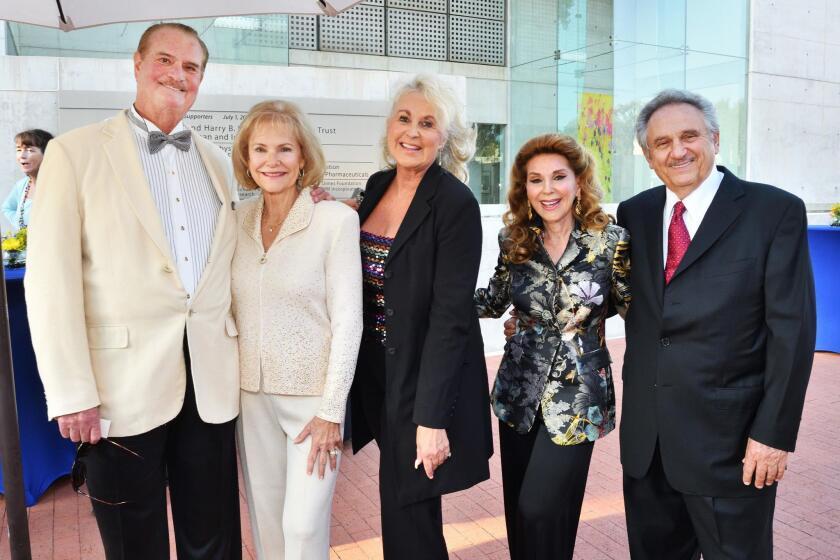 Jeffry and Sandra Schafer, Cheryl Mitchell, Reena and Sam Horowitz
