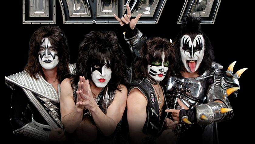KISS will perform on Nov. 19 in Tijuana for the first time.
