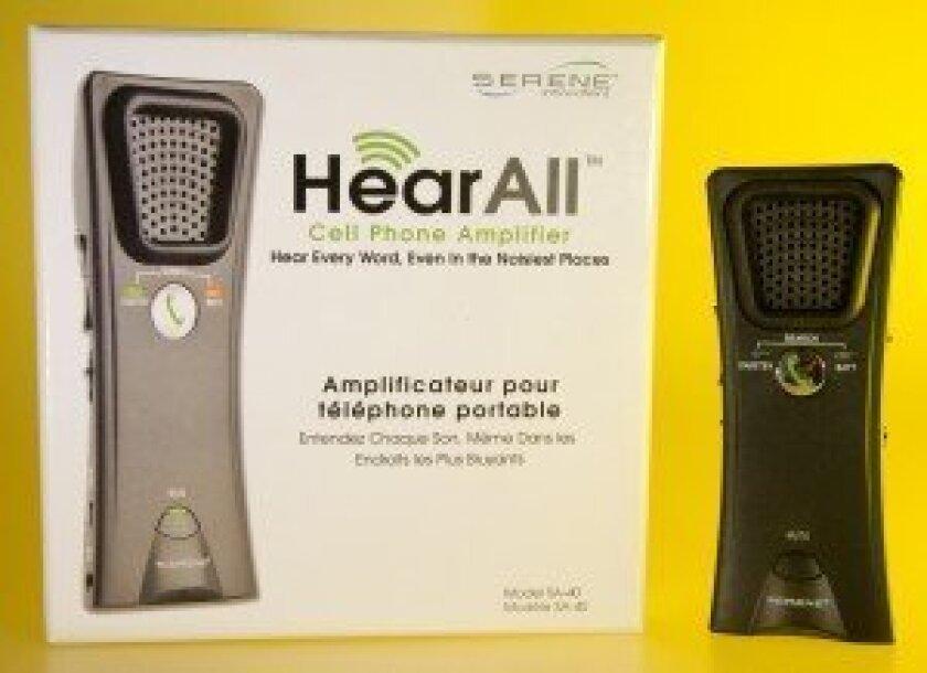 SERENE innovations Hear All Cell Phone Amplifier