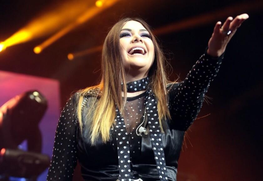 Tras recorrer territorios aztecas, la cantante Yurida se encuentra en EE.UU. para presentar la rama local de su exitosa gira #DesiertoTour2018.