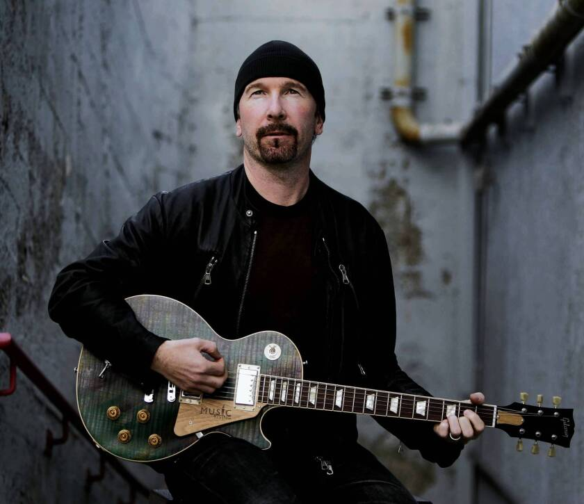 U2 guitarist the Edge, whose real name is David Evans, wants to build five mansions on a hill overlooking Malibu.