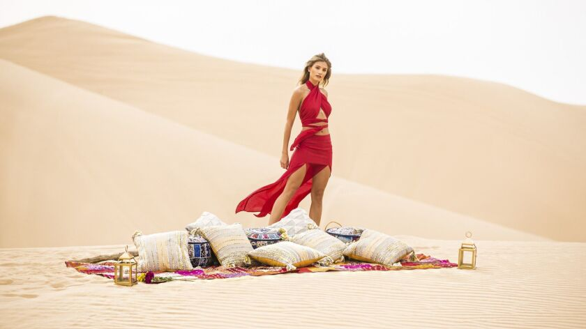 Mojave Wrap top and Arabian skirt - Designer Teresa Pinedo launched her resort ready-to-wear line Sa