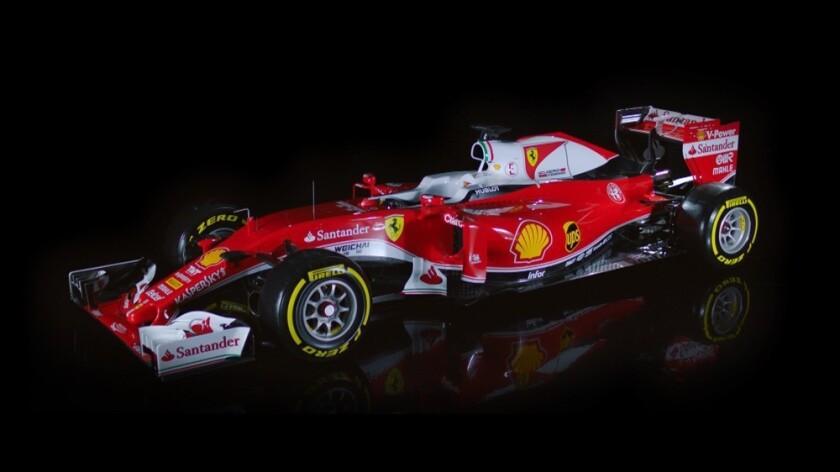 Ferrari, nuevo modelo de Fórmula 1.