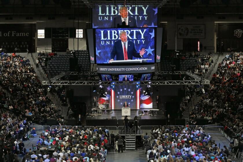 Donald Trump at Liberty University