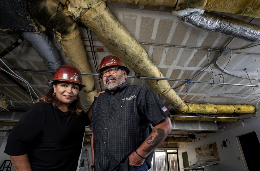 Anna and Darrel Sauceda own construction firm ACS Group