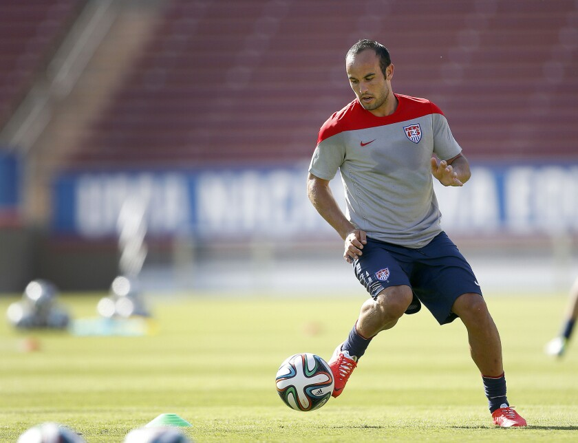 Landon Donovan could become the first American to play in four World Cups.