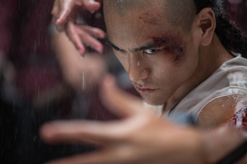 """Eddie Peng plays Fei from the movie """"Rise of the Legend."""""""