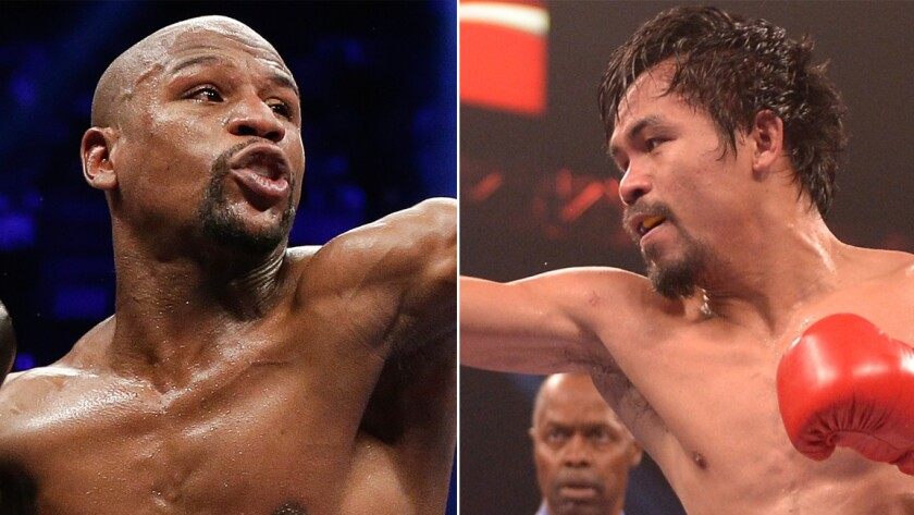 Will Floyd Mayweather Jr., left, and Manny Pacquiao ever meet in the ring?