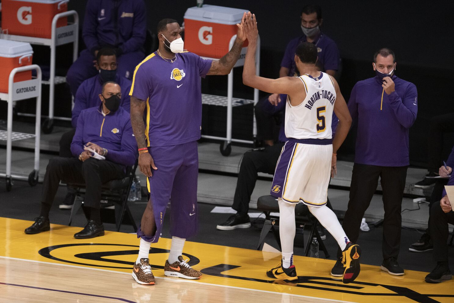 Why LeBron James and Lakers rave about Talen Horton-Tucker - Los Angeles  Times