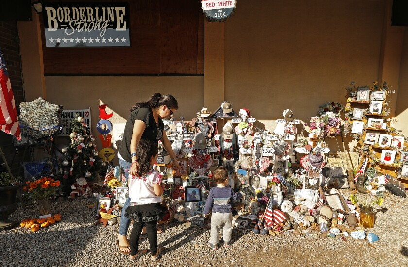 Borderline Bar and Grill memorial