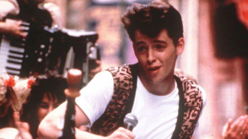 "Matthew Broderick in the 1986 John Hughes comedy ""Ferris Bueller's Day Off"" on Freeform"