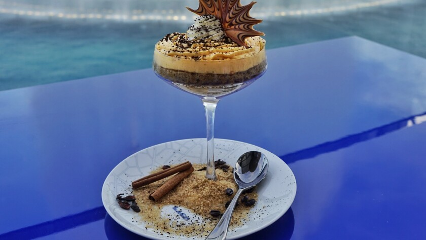 Thanksgiving may be an American holiday, but Chef Julian Serrano will give it a decidedly Italian twist at his Lago restaurant. For dessert, diners can consider tiramisu with pumpkin mascarpone mousse.