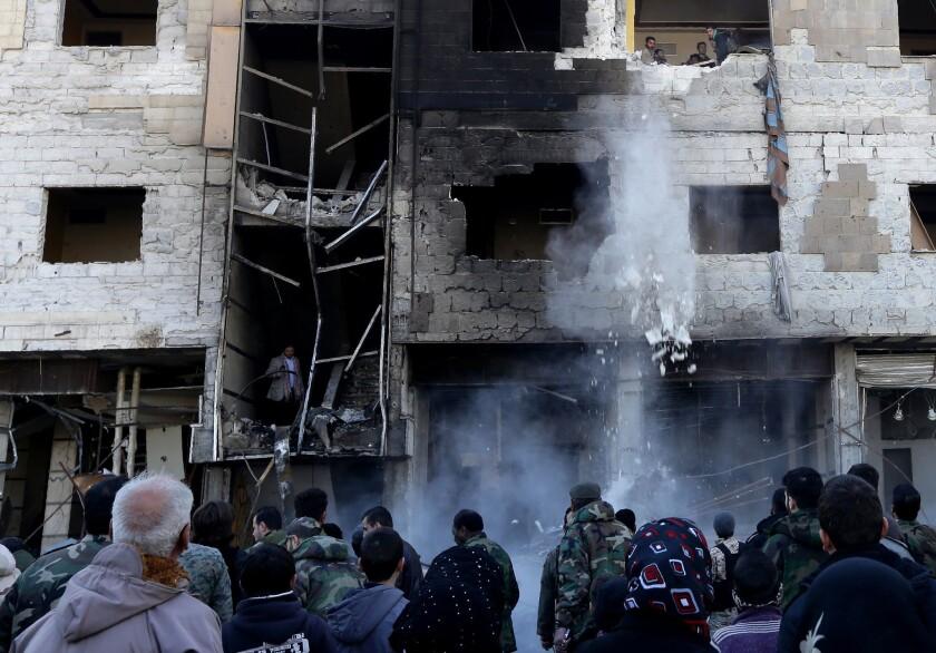 Syria suicide attacks