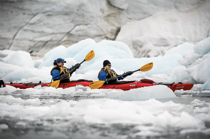 Exploring the Arctic with Poseidon Expeditions is one way to escape the summer heat.