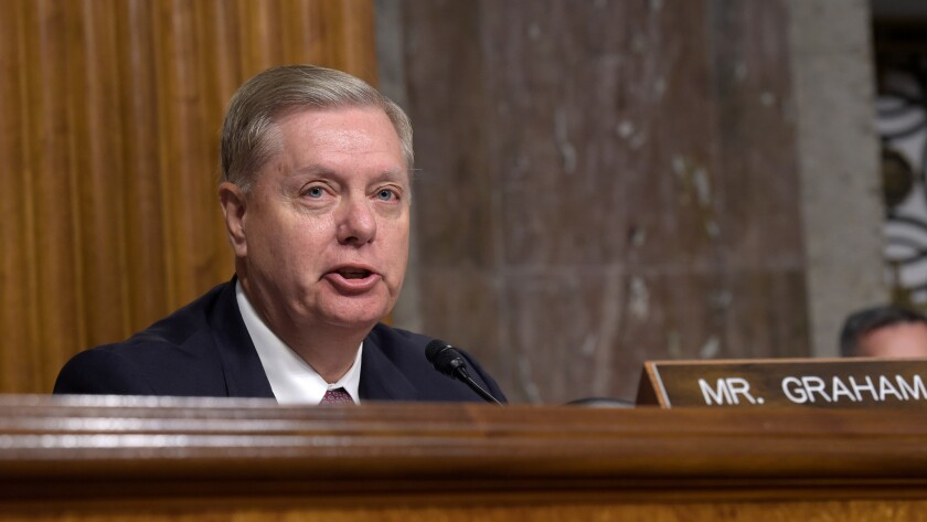 Sen. Lindsey Graham (R-S.C.): One of the few voices of (near) sanity on climate change among Republican lawmakers from the coastal Southeast.