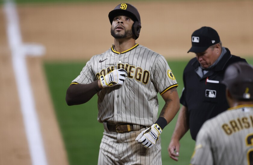 Tommy Pham will bat lead-off for the first time with the Padres on Saturday against the Diamondbacks.
