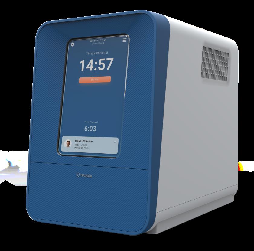 Truvian's destktop blood testing device