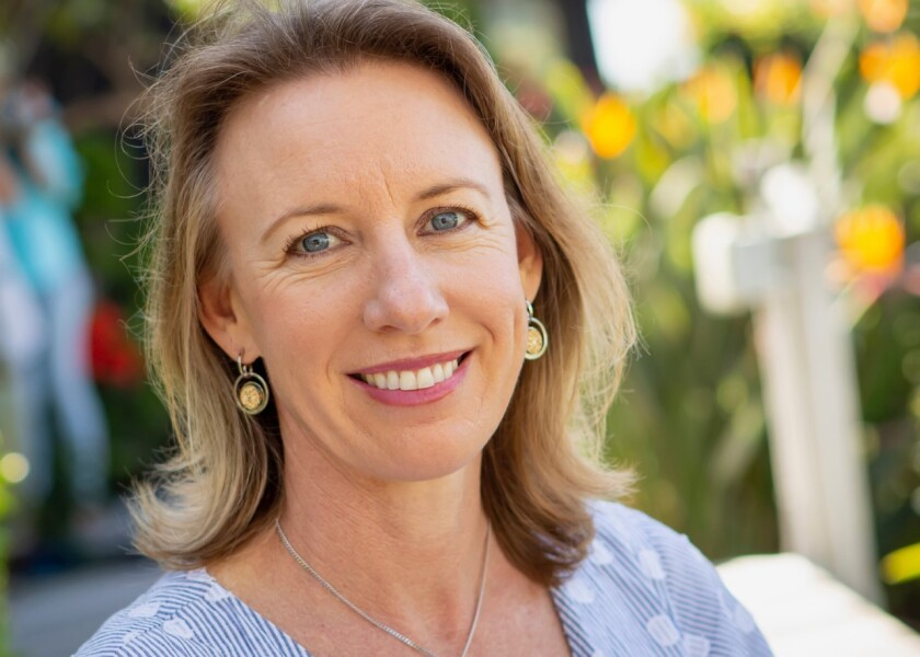 Catherine Blakespear, mayor of Encinitas, is running for California's 36th Senate District in 2022.