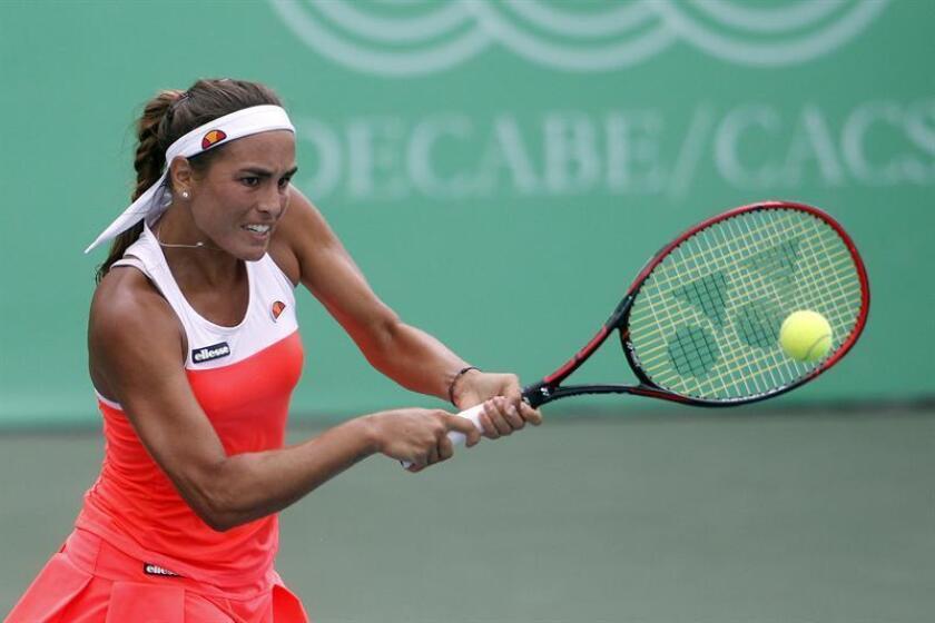 La tenista puertorriqueña Mónica Puig. EFE/Archivo