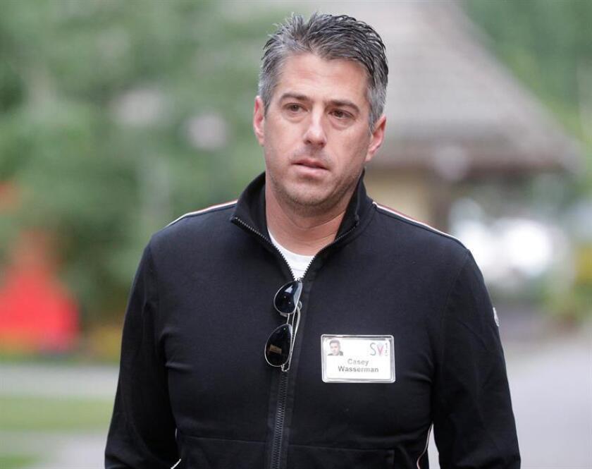 En la imagen, el presidente del comité angelino para los Juegos Olímpicos de 2024, Casey Wasserman. EFE/Archivo