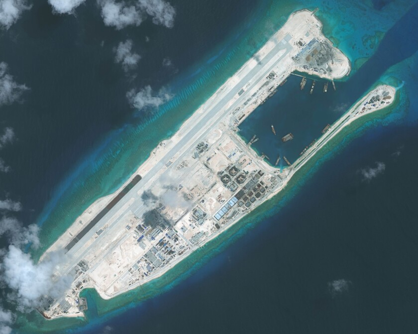 Tribunal rules against China's claim to vast expanse of the South China Sea