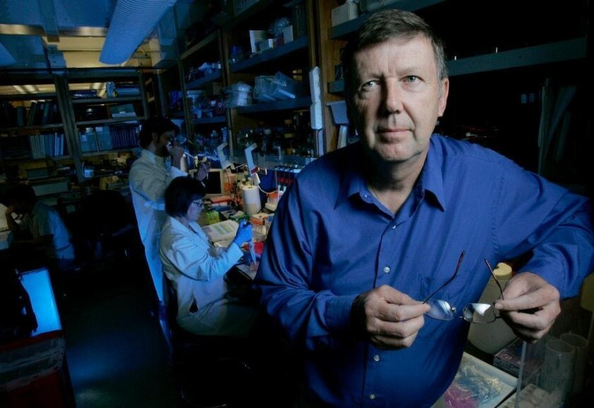 Dennis Burton is professor of immunology and microbial science at The Scripps Research Institute in La Jolla.