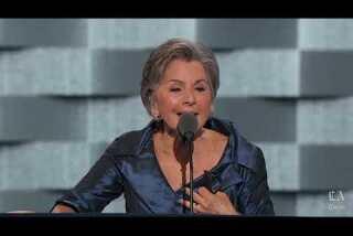 Watch Sen. Barbara Boxer of California speak at the Democratic National Convention