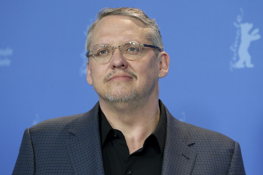 "FILE - Director Adam McKay appears during a photo call for the film ""Vice"" at the 2019 Berlinale Film Festival in Berlin, Germany on Feb. 11, 2019. McCay's latest film is ""537 Votes,"" a documentary about the 2000 Presidential election. (AP Photo/Michael Sohn, File)"