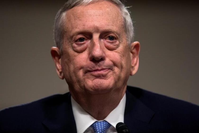 El Senado confirmó hoy el nombramiento del general retirado James Mattis como nuevo secretario de Defensa, el primer miembro del gabinete del nuevo presidente Donald Trump en recibir la luz verde. EFE/ARCHIVO