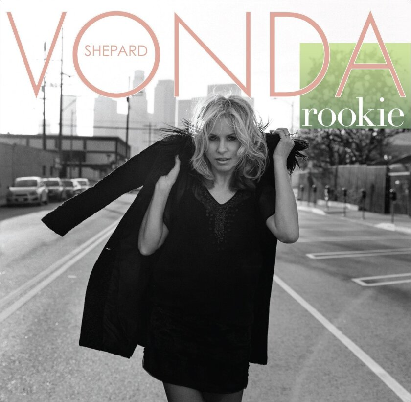 """Singer-songwriter Vonda Shepard will perform at the Belly Up Tavern on Aug. 13, which doubles as the release show for her latest album, """"Rookie,"""" above. Courtesy photo"""