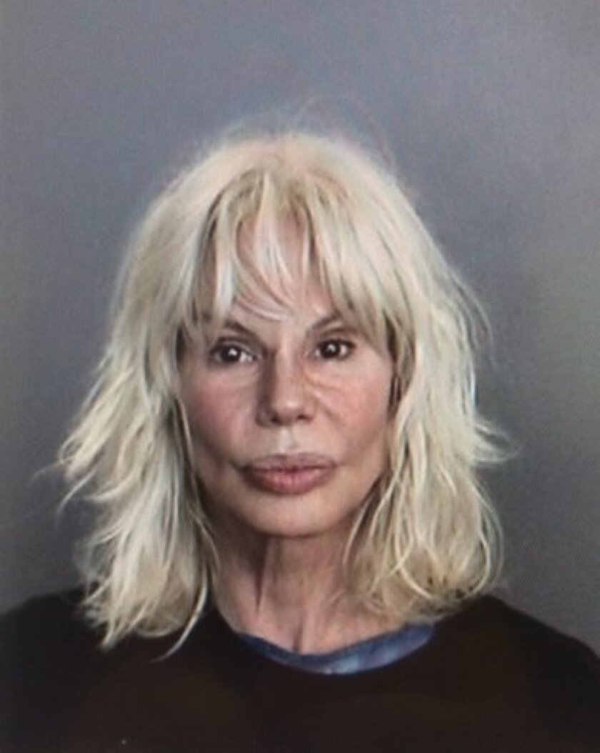 A booking photo for former TV news anchor Bree Walker.