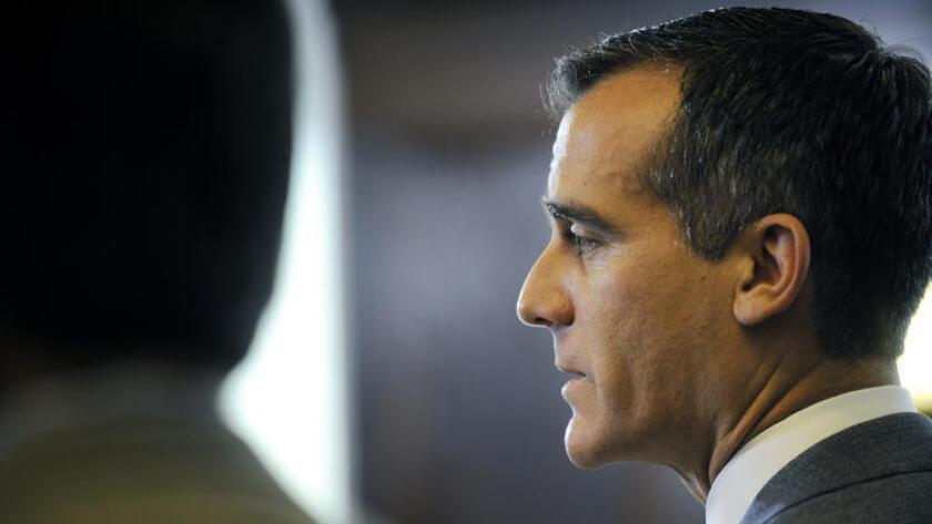 Mayor Eric Garcetti addressed L.A.'s economy during his 2016 State of the City speech.